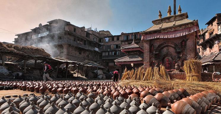 Kathmandu - Patan - Bhaktapur - Nagarkot Tour